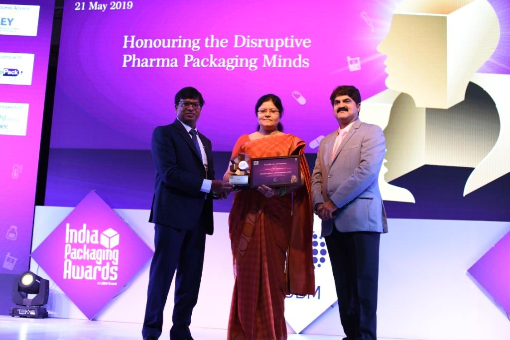INDIA PACKAGING AWARDS - R & D EXCELLENCE